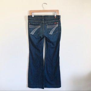 7 for all mankind | dojo flip flop jean size 27
